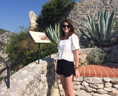 learn french visit Eze